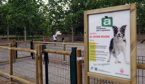 La Paeria obre un tercer parc destinat per a gossos