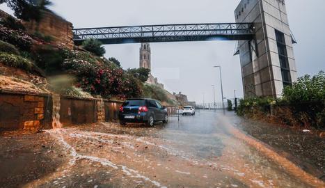 Pluja i pedra a Lleida i comarques