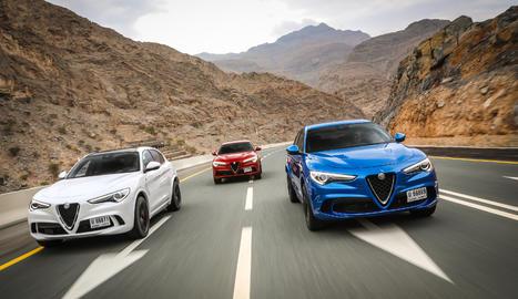L'Alfa Romeo Stelvio Quadrifoglio debuta al Regne Unit en un prestigiós festival