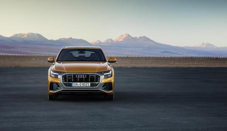 Audi Q8, la nova imatge de la família Q versàtil i elegant