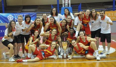 La lleidatana Anna Prim guanya un trofeu sub-15 a Niça amb Espanya