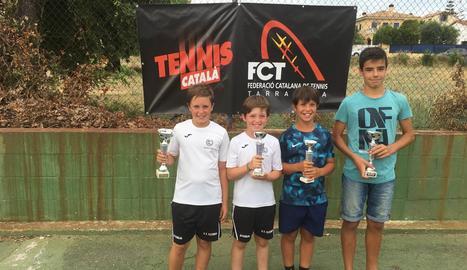 A la imatge, alguns dels guanyadors del CT Lleida.
