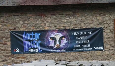 Primera pedra del Doctor Music Festival a Escalarre
