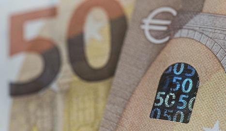 Imatge dels nous bitllets de 50 euros.