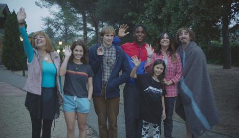Els protagonistes de la comèdia negra 'Benvinguts a la família'.