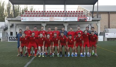 L'equip del Segrià va començar ahir els entrenaments i l'1 d'agost vinent debutarà a la pretemporada davant de l'Almudévar.
