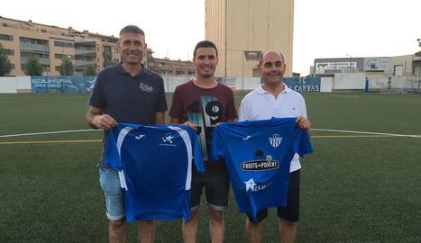 Acord de col·laboració entre l'EF Baix Segrià i el CF Alcarràs