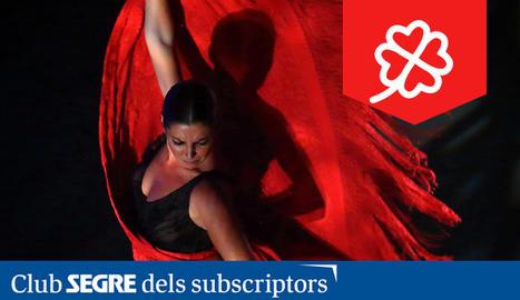 La ballarina i coreògrafa gaditana Sara Baras.