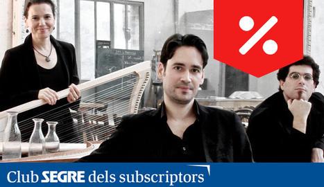El trio 'Tasto Solo' oferirà tres concerts al FeMAP.