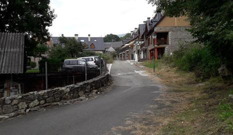 Imatge d'arxiu del carrer Pijauert de Les.