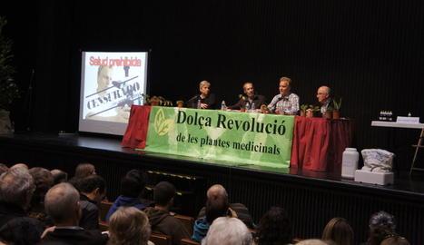 Un dels actes de Dolça Revolució de les Plantes Medicinals.