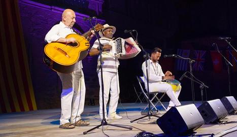 Un dels concerts que van tenir lloc divendres als Jardins del Seminari de la Seu d'Urgell.