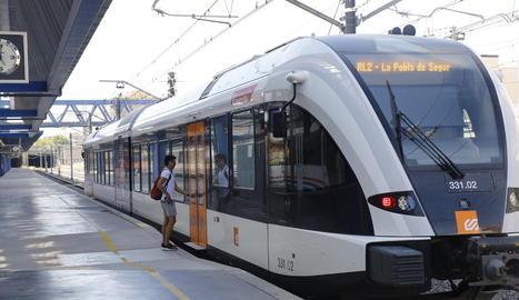 El tren de la Pobla va registrar entre l'agost del 2017 i el juliol del 2018 més de 209.000 viatgers, la majoria de Lleida a Balaguer.