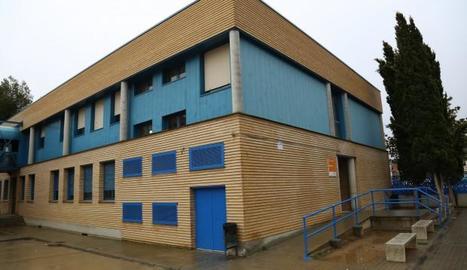 Les instal·lacions de l'Institut de Secundària de Mequinensa.