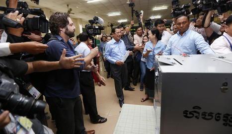 Eleccions amb polèmica a Cambodja