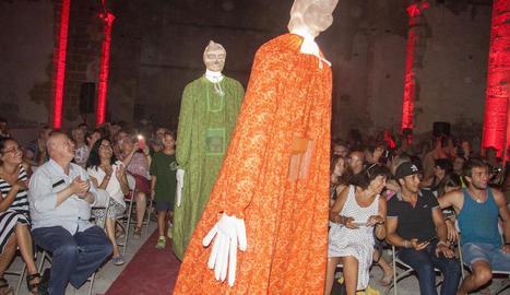 L'església de Sant Domènec va acollir ahir a la nit la presentació de la programació de l'Aquelarre 2018.