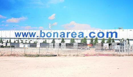 Imatge ahir de les instal·lacions de l'empresa a Guissona.