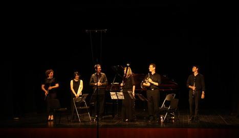 El concert inaugural va ser protagonitzat per alguns dels professors del curs.