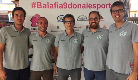 Jordi Martínez, Xavi Balsells, Carlos Oca, Mario Martínez i Juan Campillos.