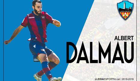 El Lleida fitxa el lateral Albert Dalmau