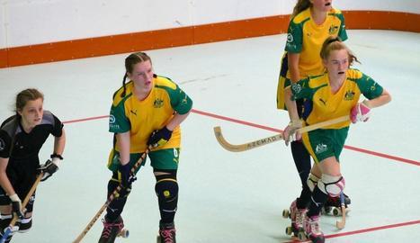 A la dreta, l'australiana Eimear Catherine Haller, nova jugadora del Vila-sana.