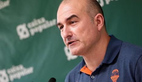 El tècnic targarí del València, Jaume Ponsarnau.