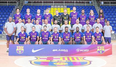 El Barcelona d'handbol, de pretemporada a Andorra