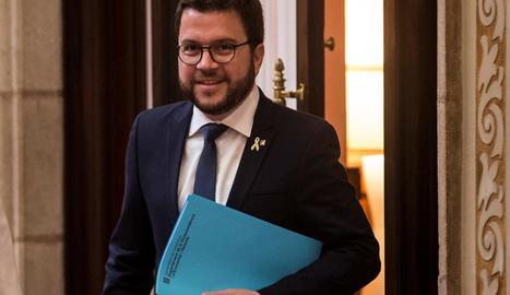 El vicepresident i adjunt a la presidència d'Esquerra, Pere Aragonès.