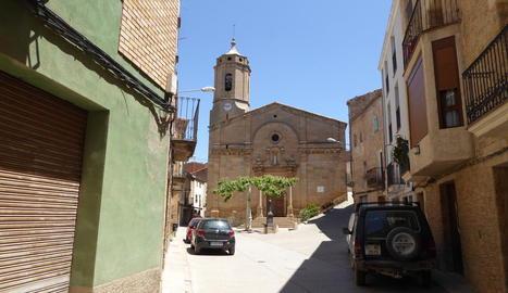 Vista del centre històric del Soleràs.