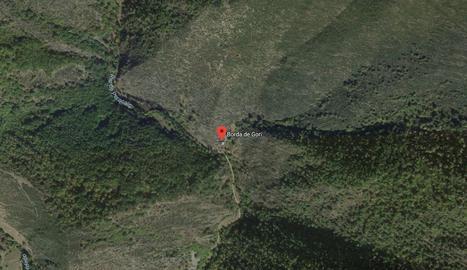 El cos ha estat localitzat al costat de la Borda de Gori