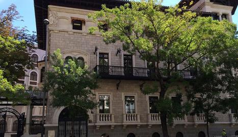 La seu a Madrid del Centre d'Educació Superior Next.
