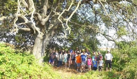 L'excursió organitzada la setmana passada a Sant Guim.