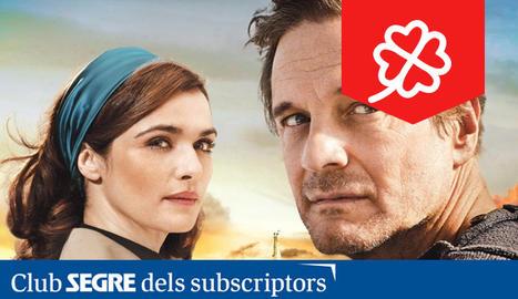 Els protagonistes de 'Un océano entre nosotros': Colin Firth i Rachel Weisz.