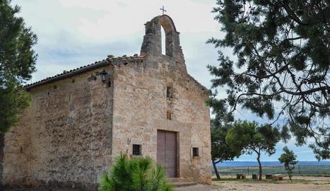 Imatge de l'ermita de Carrassumada.