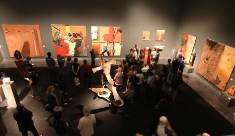 El Museu de Lleida va acollir al maig l'exposició 'Agramuntophitecus' amb motiu de l'Any Guinovart.
