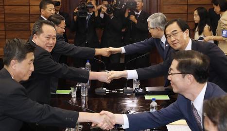 Tercera cimera coreana, al setembre