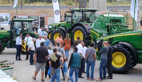 La zona de tractors de la Fira de Sant Miquel assoleix el 100% d'ocupació