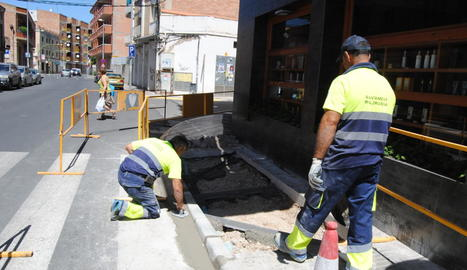 Les obres van a càrrec de la brigada municipal.