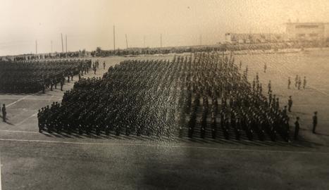 Els familiars dels reclutes lleidatans no van poder assistir a la jura de bandera a causa de la llunyania
