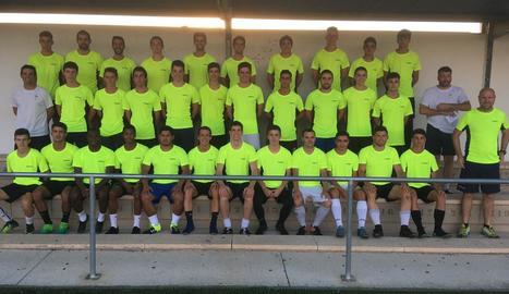 El Guissona comptarà amb jugadors del filial i juvenil per a una temporada exigent a Segona Catalana.