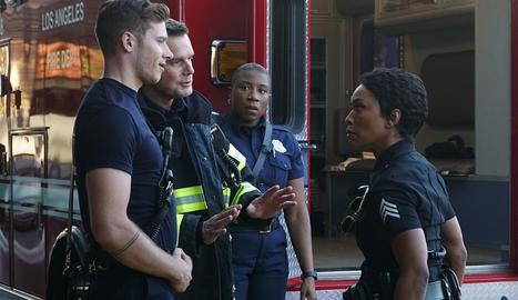 Una escena de la sèrie '911'.