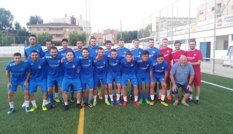 Plantilla amb la qual el FC Alcarràs afrontarà aquesta temporada, en què l'objectiu serà aconseguir l'ascens a Primera Catalana.