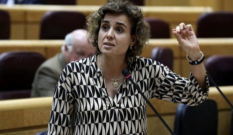 La portaveu del PP al Congrés, Dolors Montserrat.