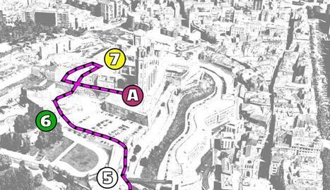 Formaran una cadena humana entre la plaça Paeria i la Seu Vella pels presos independentistes