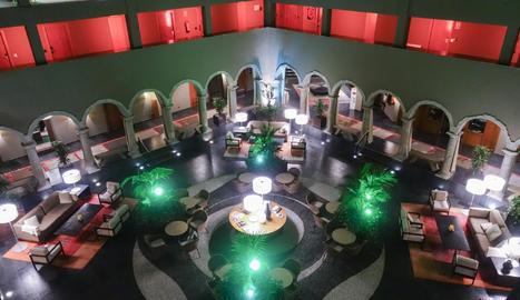 L'emblemàtic claustre del Parador data de l'època renaixentista.