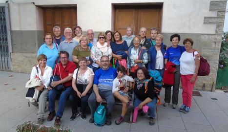 Veïns de Vilaller van gaudir d'una excursió cap al Pirineu francès.