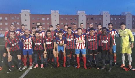 Agramunt i Tàrrega van disputar un entretingut partit en el qual es van veure sis gols.