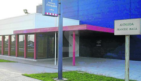 La comissaria dels Mossos d'Esquadra a Cervera.