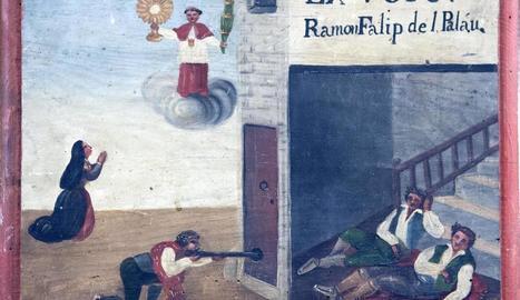 altar. Torna a ser habitual trobar testimonis escrits, acompanyats de petits objectes, per donar les gràcies a Sant Ramon per una 'intervenció'.