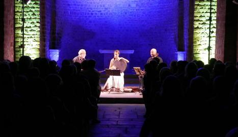 Trio de música medieval, divendres a la Seu d'Urgell.